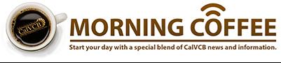 CalVCB Morning Coffee Newsletter Logo
